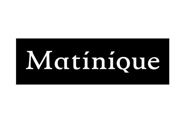 Logo Pour des vêtements Matinique, pensez Don Quichotte!